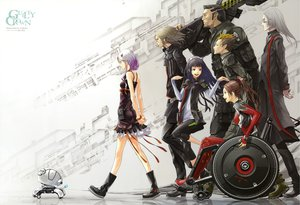 Rating: Safe Score: 185 Tags: dress fyu-neru guilty_crown redjuice shinomiya_ayase tsugumi tsutsugami_gai yuzuriha_inori User: Wiresetc