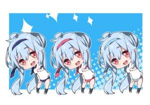 Rating: Safe Score: 7 Tags: aliasing bloomers blue_hair chibi gym_uniform headband kneehighs long_hair matoi_(pso2) milkpanda phantasy_star phantasy_star_online phantasy_star_online_2 red_eyes User: otaku_emmy