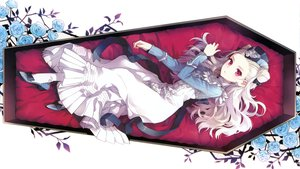 Rating: Safe Score: 236 Tags: dress flowers lolita_fashion long_hair nardack red_eyes rose scan sword_girls vampire white_hair User: meccrain
