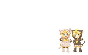 Rating: Safe Score: 47 Tags: animal_ears aqua_eyes blonde_hair chibi hidacafe hoodie kagamine_len kagamine_rin male short_hair tail vocaloid User: SciFi