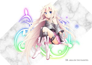 Rating: Safe Score: 77 Tags: blonde_hair blue_eyes boots braids ia long_hair vocaloid User: Konazakura