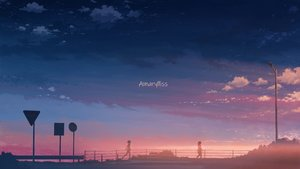 Rating: Safe Score: 42 Tags: clouds hati_98 original scenic silhouette sky sunset User: RyuZU