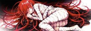 Rating: Safe Score: 26 Tags: bandage long_hair necklace polychromatic red_eyes red_hair shakugan_no_shana shana tachitsu_teto waifu2x User: BattlequeenYume