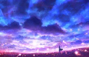 Rating: Safe Score: 20 Tags: bou_nin clouds original polychromatic scenic sky User: mattiasc02