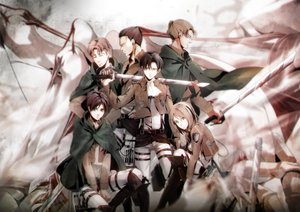 Rating: Safe Score: 13 Tags: auruo_bossard erd_gin eren_jaeger group gunter_shulz kawauso levi_ackerman male petra_ral shingeki_no_kyojin sword tagme uniform weapon User: FormX