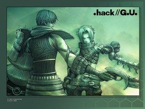 Rating: Safe Score: 9 Tags: .hack// .hack//g.u. .hack//link .hack//roots biwa green haseo ovan User: Oyashiro-sama