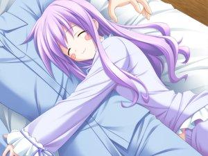Rating: Safe Score: 30 Tags: blush cat_smile game_cg purple_hair valentine_pink yamabuki_renge_(canvas) User: korokun