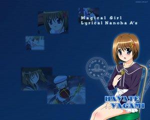Rating: Safe Score: 6 Tags: mahou_shoujo_lyrical_nanoha mahou_shoujo_lyrical_nanoha_a's yagami_hayate User: Oyashiro-sama