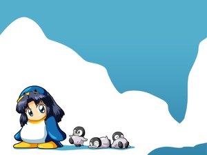 Rating: Safe Score: 18 Tags: animal asakura_ryouko chibi penguin suzumiya_haruhi_no_yuutsu User: 秀悟