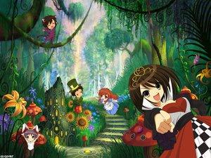 Rating: Safe Score: 51 Tags: alice_in_wonderland animal_ears asahina_mikuru bunnygirl catgirl chibi cosplay dress flowers forest hat jpeg_artifacts koizumi_itsuki kyon male nagato_yuki parody suzumiya_haruhi suzumiya_haruhi_no_yuutsu tree User: Oyashiro-sama