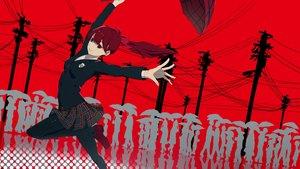 Rating: Safe Score: 22 Tags: kumamoto_nomii-kun pantyhose persona_5 polychromatic ponytail school_uniform umbrella yoshizawa_kasumi User: Dreista