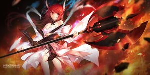 Rating: Safe Score: 207 Tags: date_a_live fire itsuka_kotori japanese_clothes lolita_fashion long_hair red_eyes red_hair swd3e2 weapon User: Flandre93