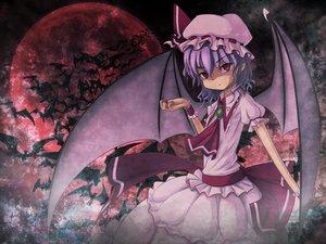 Rating: Safe Score: 21 Tags: animal bat dark kujira-kousen moon remilia_scarlet touhou vampire User: HawthorneKitty