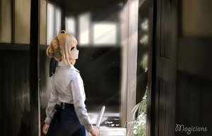 Rating: Safe Score: 75 Tags: artoria_pendragon_(all) fate_(series) fate/stay_night magicians saber User: Maboroshi
