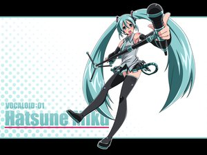 Rating: Safe Score: 26 Tags: hatsune_miku headphones microphone twintails vocaloid User: anaraquelk2