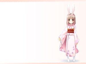 Rating: Safe Score: 5 Tags: animal_ears bunny_ears bunnygirl japanese_clothes tagme User: Oyashiro-sama