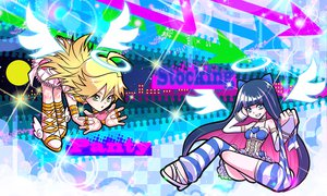 Rating: Safe Score: 55 Tags: panty_&_stocking_with_garterbelt panty_(character) stocking_(character) User: HawthorneKitty
