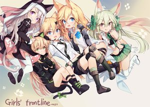 Rating: Safe Score: 63 Tags: animal_ears anthropomorphism aqua_eyes art556_(girls_frontline) blonde_hair blue_eyes boots bow brown_eyes catgirl cat_smile cross dress fang g41_(girls_frontline) garter garter_belt girls_frontline gloves green_eyes green_hair group headdress headphones idw_(girls_frontline) kneehighs loli long_hair microphone navel nun p7_(girls_frontline) panties purple_eyes shirt shorts skirt takotsu techgirl thighhighs tie tmp_(girls_frontline) underwear white_hair User: otaku_emmy