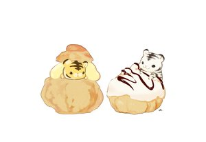 Rating: Safe Score: 20 Tags: animal chai_(artist) chibi food nobody original signed tiger white User: otaku_emmy