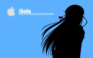 Rating: Safe Score: 11 Tags: blue ipod polychromatic shihou_matsuri silhouette sola User: Rito_Asakura