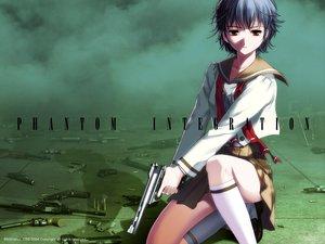 Rating: Safe Score: 20 Tags: elen gun phantom_of_inferno weapon User: Oyashiro-sama