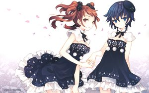 Rating: Safe Score: 127 Tags: kujikawa_rise persona persona_4 shirogane_naoto tearfish twintails white User: w7382001