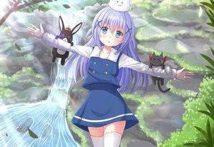 Rating: Safe Score: 106 Tags: animal anko_(gochiusa) forest gochuumon_wa_usagi_desu_ka? kafuu_chino kazenokaze loli nichijou rabbit sakamoto_(nichijou) thighhighs tippy_(gochiusa) tree water waterfall zettai_ryouiki User: gnarf1975