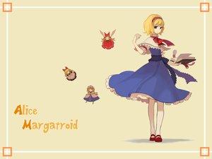 Rating: Safe Score: 13 Tags: alice_margatroid blonde_hair blue_eyes book doll dress hourai long_hair mage orange_hair ribbons shanghai_doll short_hair touhou User: rargy