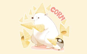 Rating: Safe Score: 25 Tags: animal bear chai_(artist) food nobody original penguin signed User: otaku_emmy