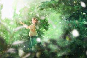 Rating: Safe Score: 29 Tags: green nakamura_yukihiro original User: FormX