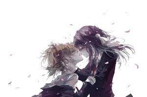 Rating: Safe Score: 83 Tags: kiss petals sakura_trick shoujo_ai sonoda_yuu stu_dts takayama_haruka User: FormX