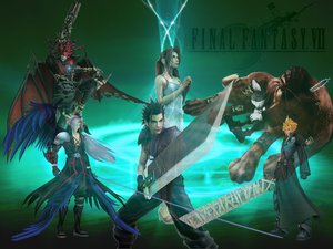 Rating: Safe Score: 21 Tags: aerith_gainsborough cait_sith cloud_strife final_fantasy final_fantasy_vii red_xiii sephiroth zack_fair User: zupertompa