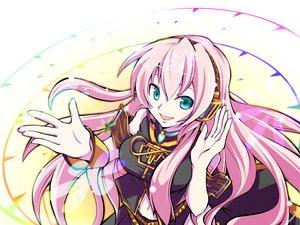 Rating: Safe Score: 63 Tags: aqua_eyes haru_aki headphones long_hair megurine_luka pink_hair vocaloid User: w7382001
