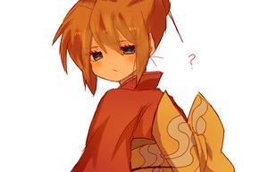 Rating: Safe Score: 52 Tags: blue_eyes blush gintama japanese_clothes kagura_(gintama) nekuchi orange_hair white yukata User: otaku_emmy