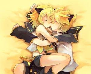Rating: Safe Score: 83 Tags: animal_ears catboy catgirl kagamine_len kagamine_rin male sleeping vocaloid User: Maboroshi