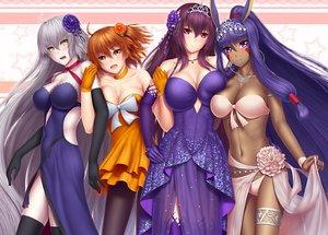 Rating: Safe Score: 91 Tags: breasts dark_skin fate/grand_order fate_(series) fujimaru_ritsuka_(female) group jeanne_d'arc_alter jeanne_d'arc_(fate) nitocris_(fate/grand_order) scathach_(fate/grand_order) tagme_(artist) User: luckyluna