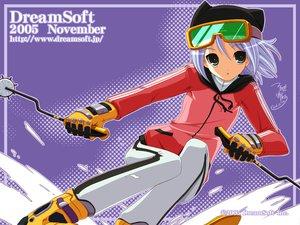Rating: Safe Score: 9 Tags: dreamsoft gloves goggles hat snow sport tsurugi_hagane watermark User: Oyashiro-sama