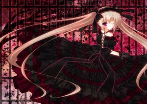 Rating: Safe Score: 67 Tags: dress goth-loli lolita_fashion long_hair wink wreathlit69 User: HawthorneKitty