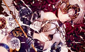 Rating: Safe Score: 176 Tags: armor atha blonde_hair fate/grand_order fate_(series) garter gloves jeanne_d'arc_alter jeanne_d'arc_(fate) yellow_eyes User: SciFi
