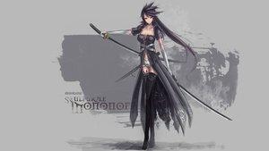Rating: Safe Score: 104 Tags: katana long_hair sword weapon User: Domon