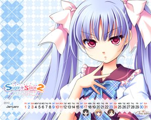 Rating: Safe Score: 14 Tags: calendar close ginta hiiragi_ginga red_eyes ribbons sugar+spice_2 twintails User: Yunocchi