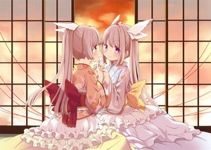 Rating: Safe Score: 57 Tags: 2girls japanese_clothes kimono lolita_fashion original scan ume_aoki User: mattiasc02