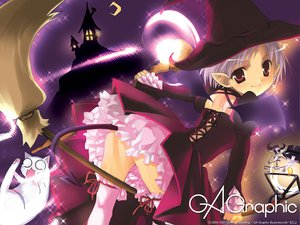 Rating: Safe Score: 4 Tags: gagraphic g_munyo logo pointed_ears watermark witch User: Oyashiro-sama