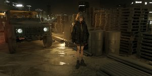 Rating: Safe Score: 34 Tags: 3d animal_ears brown_hair building city combat_vehicle hoodie industrial lm7_(op-center) night original photo purple_eyes scenic short_hair socks tie User: Dreista