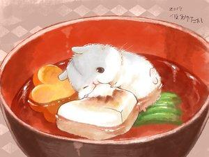Rating: Safe Score: 44 Tags: animal food nobody original yutaka_kana User: otaku_emmy
