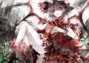 Rating: Safe Score: 48 Tags: red_eyes remilia_scarlet touhou ultimate_asuka vampire wings User: Xtea