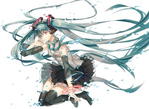 Rating: Safe Score: 105 Tags: bicolored_eyes hatsune_miku tears vocaloid yunomachi User: FormX
