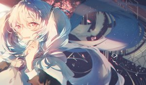 Rating: Safe Score: 75 Tags: blush close hatsune_miku ksazh long_hair polychromatic vocaloid User: FormX