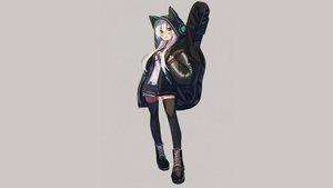 Rating: Safe Score: 20 Tags: animal_ears boots daifukumochi_(akaaokiiwo) guitar hoodie instrument kanade_kanon kanade_kanon_official long_hair thighhighs third-party_edit white_hair yellow_eyes zettai_ryouiki User: mattiasc02