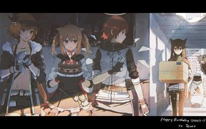 Rating: Safe Score: 80 Tags: arknights croissant_(arknights) exusiai_(arknights) lappland_(arknights) lococo:p sora_(arknights) texas_(arknights) the_emperor_(arknights) User: mattiasc02